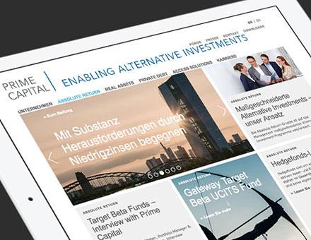 Prime Capital Website