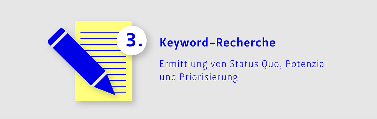 Schritt 3: Keyword-Recherche