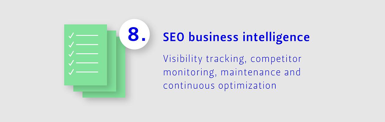Step 8: SEO business intelligence