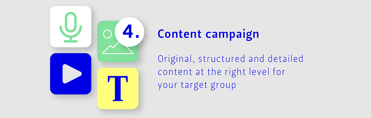 Step 4: Content campaign