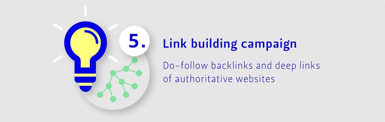 Step 5: Ling building campaign